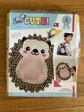 Sew Cute! Backpack Clip Kit Hedgehog