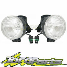 FOG LIGHTS PAIR SUIT HOLDEN COMMODORE VX VU VY 97-04 LAMP SPOT DRIVING FOGLAMP