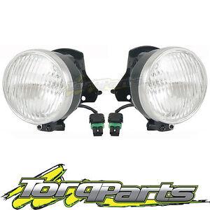 FOG LIGHTS SUIT HOLDEN SS COMMODORE VX VU VY 00-04 LAMP SPOT DRIVING FOGLAMP