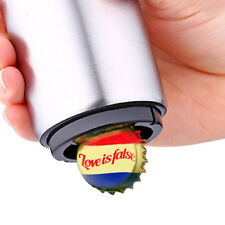 sale Automatic Stainless Steel Beer Wine Soda Cap Can Bottle Easy Opener Kitchen