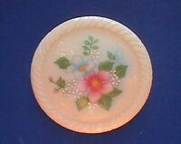 Avon PIN Vintage FLOWER BOUQUET Pink WILD ROSE Porcelain Brooch Jewelry