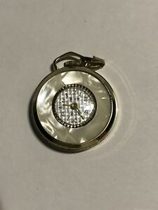 Vintage Gold Lucerne Swiss Pendant Watch Working!