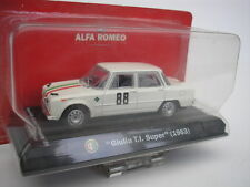 ALFA ROMEO GIULIA TI SUPER #88 SWEDISH RALLY 1964 TECILLA 1/43 METRO NEW
