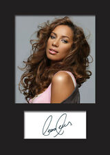 LEONA LEWIS Signed Photo Print A5 Mounted Photo Print - FREE DELIVERY