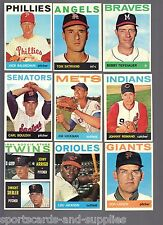 1964 Topps Semi High #s $3.95 EACH You Pick Complete Your Set EX/EX+ 372-522 L10