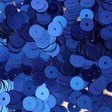 Vintage Light Ice Blue Metallic Snowflake sequins 15 pcs.