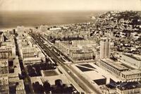 LE HAVRE L'Hôtel de Ville au fond le Cap de la Hève