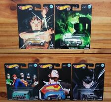 Hot Wheels 2018 Pop Culture ALEX ROSS DC HEROES SERIES Set from the box (A+/A+)