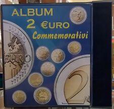 Album 2 euro commemorativi -  Nuova Cartella vuota con custodia - ditta ABAFIL