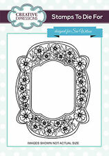 Creative Expressions Sue Wilson SWEET SUMMER  Pre Cut Rubber Stamp UMS717