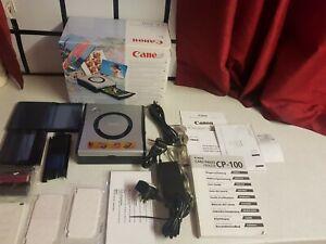 Complete canon CP-300 photo card printer direct connection canon digital cameras