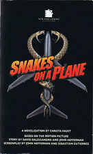 Christa Faust Snakes On A Plane Movie Tie-In - Signed First Printing
