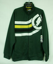 NWT ECKO UNLTD Unlimited Men's 2XL Green Full Zip Rhino Track Jacket Coat