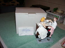 After The Prom Norman Rockwell Figurine Danbury Mint 1992 w/box Nice!