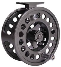 Shakespeare oracle gun smoke salmon fly fishing reel 10/11 30lb support