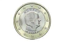 MONACO 1 euro 2007 Principe ALBERTO PRINCE ALBERT RARE RARITA CON CAPSULA