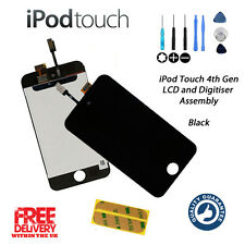 NEW Replacement for iPod Touch 4G 4th Gen (A1367) LCD + Digitiser Touch - BLACK