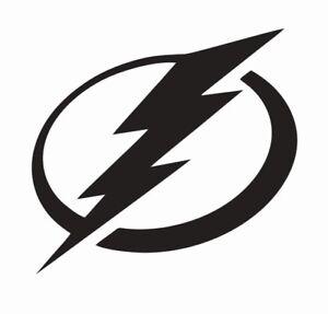 Tampa Bay Lightning NHL Hockey Vinyl Die Cut Car Decal Sticker - FREE SHIPPING