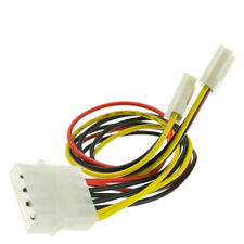 8 inch, 4 Pin Molex to Floppy Power Y Cable   11W3-02210