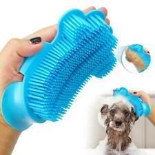 Pet Dog Cat Bath Brush Plastic Dog Cleaning Massage Shampooing Comb Tool