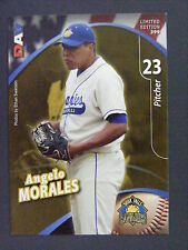 Angelo Morales 2009 Sioux Falls Canaries DAV SGA Minor League Card Panama