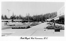 Photo. 1951-3. West Vancouver, BC Canada. Park Royal Shopping Centre