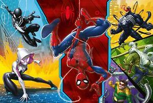 Trefl Spiderman 100 Piece Jigsaw Puzzle For Kids Upside Down