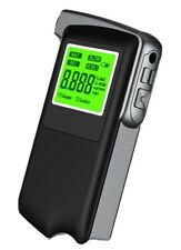 USB Rechargeable Alcohol Breathalyser Portable Breath Alcohol Testers LCD
