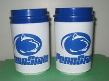 "2 ""New"" PENN STATE  ""Vintage Aladdin""  Coffee Mug Plastic Cup Insulated 12oz"