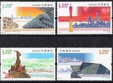 CHINA 2010--16 GUANGZHOU ENCHANTING PEARL RIVER   SET/4