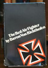 Red Air Fighter by Baron Von Richthofen Arno Press HC/DJ 1972