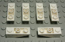 2414 Lego Stein abgerundet 1x3x2 Weiss 2 Stück