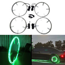 LED Wheel Tire Lights Moving Color Changing Kit Wireless for Subaru WRX