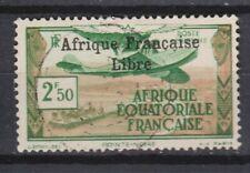AFRIQUE EQUATORIALE PA N° 15 Oblitéré  C de française sans cédille  Cote 30 €