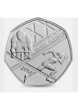 50p Coin 2014 Commonwealth Games Glasgow Fifty Pence Coin Collectable Rare!!!