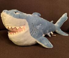 "Plush Bruce the Shark 22"" Finding Nemo Stuffed Animal, Disney Store Exclusive"