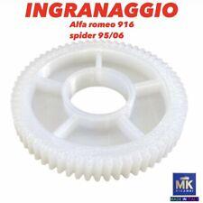 INGRANAGGIO IN NYLON TETTUCCIO ELETTRICO CAPOTE PER ALFA ROMEO 916 SPIDER 95/06