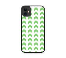 Dark Green Arrows Pattern Rubber Phone Case Arrow Design Direction Shapes G513
