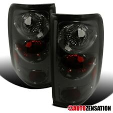 For 2004-2008 Ford F150 Styleside Smoke Tail Brake Lights Reverse Lamps Pair