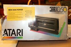 Atari 1050 disk drive with original box