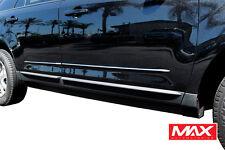 BS3824 12-17 Ford Explorer Chrome Streamline Bodyside Moldings Replacement