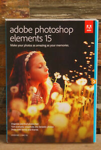 Adobe - Photoshop Elements 15 - Authentic & New
