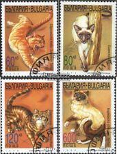 Bulgarien 4337-4340 (kompl.Ausg.) gestempelt 1998 Katzen