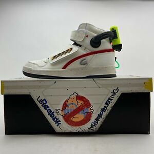 Reebok x Ghost Busters Ghost Smasher Cream and Red Black Men Shoes FY2106 US 8