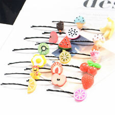5pcs Lovely Fruit Baby Hair Pins Clip Girls Cute Bobby Pin Kids Hair Accessorie