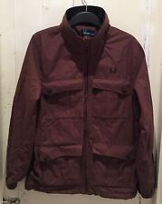 Fred Perry Jacket/Parka, Size S (fits like an M), Brown