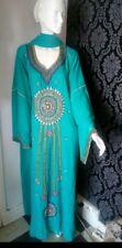 Superbe Robe orientale Abaya Dubaï luxe caftan takchita djallaba hijab com neuve