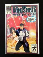 THE PUNISHER: WAR JOURNAL #40 MARVEL COMICS 1992 VF/NM