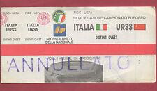 Orig.Ticket   EM Qualifikation  03.11.1990   ITALIEN - UDSSR  !!  SEHR SELTEN