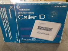 Radio Shack Caller ID System 43-969 preowned